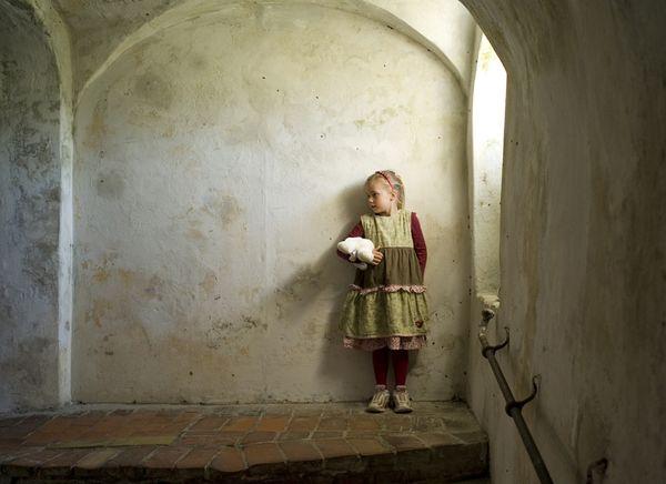 denmark-girl-at-kronborg-castle-garrisons
