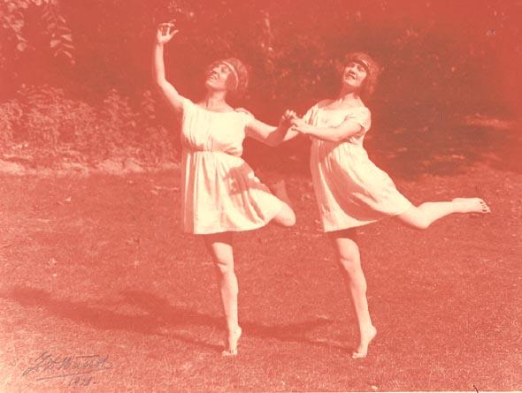 Two Women Dance
