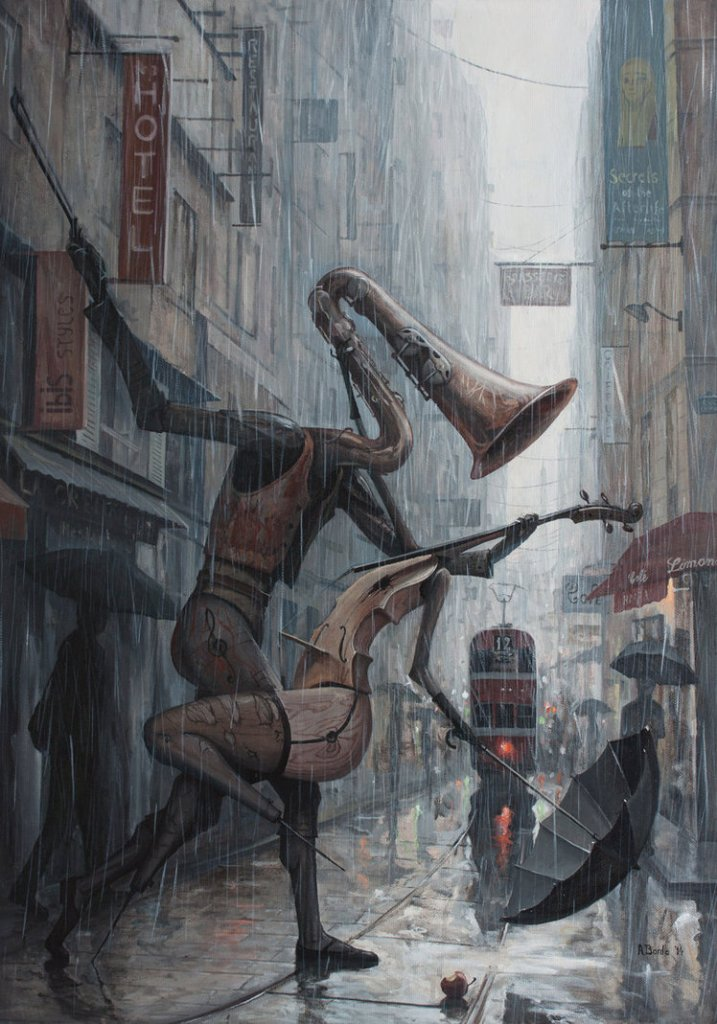 Life is a Dance in the Rain III (Adrian Borda)