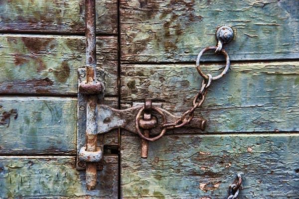Chain and door lock