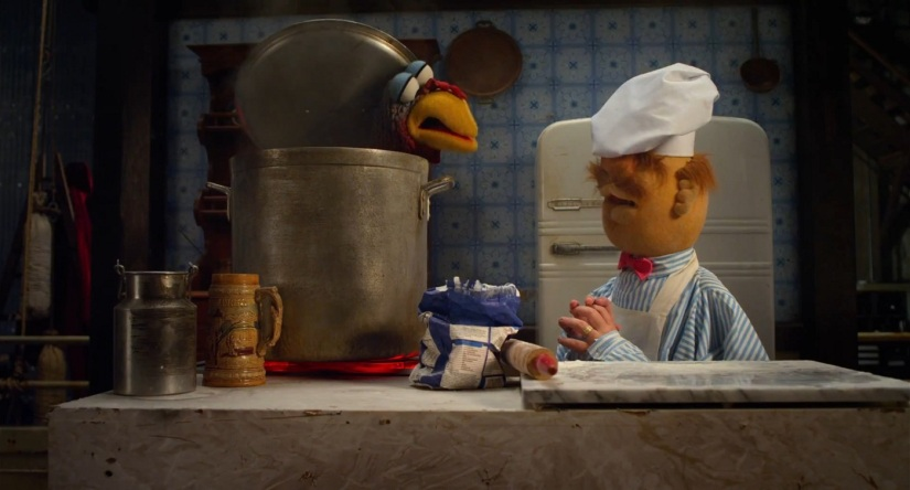 Chef and Chicken