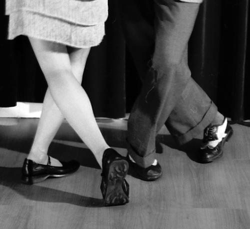 swing dance feet