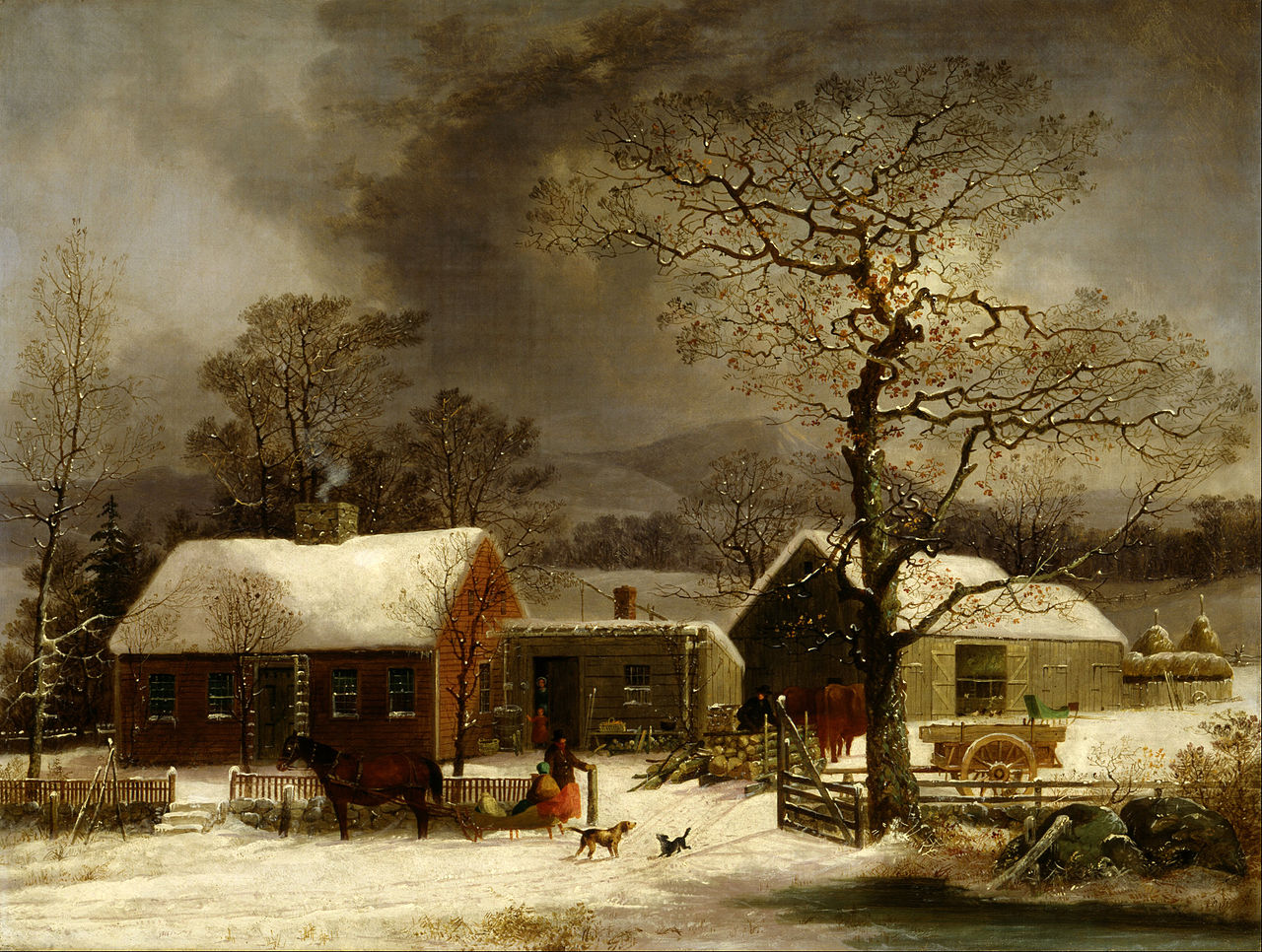 Durrie Winter Scene