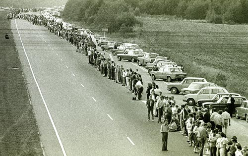 Baltic Human Chain