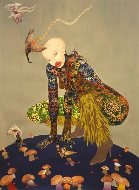 Wangechi Mutu, Riding Death in my Sleep