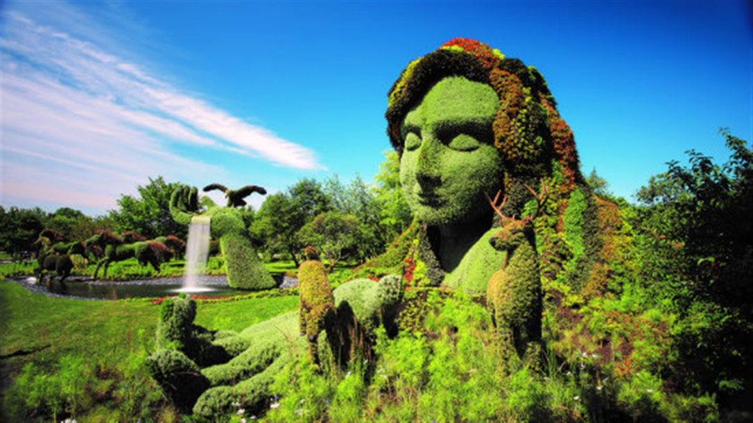 montreal botanical woman 3