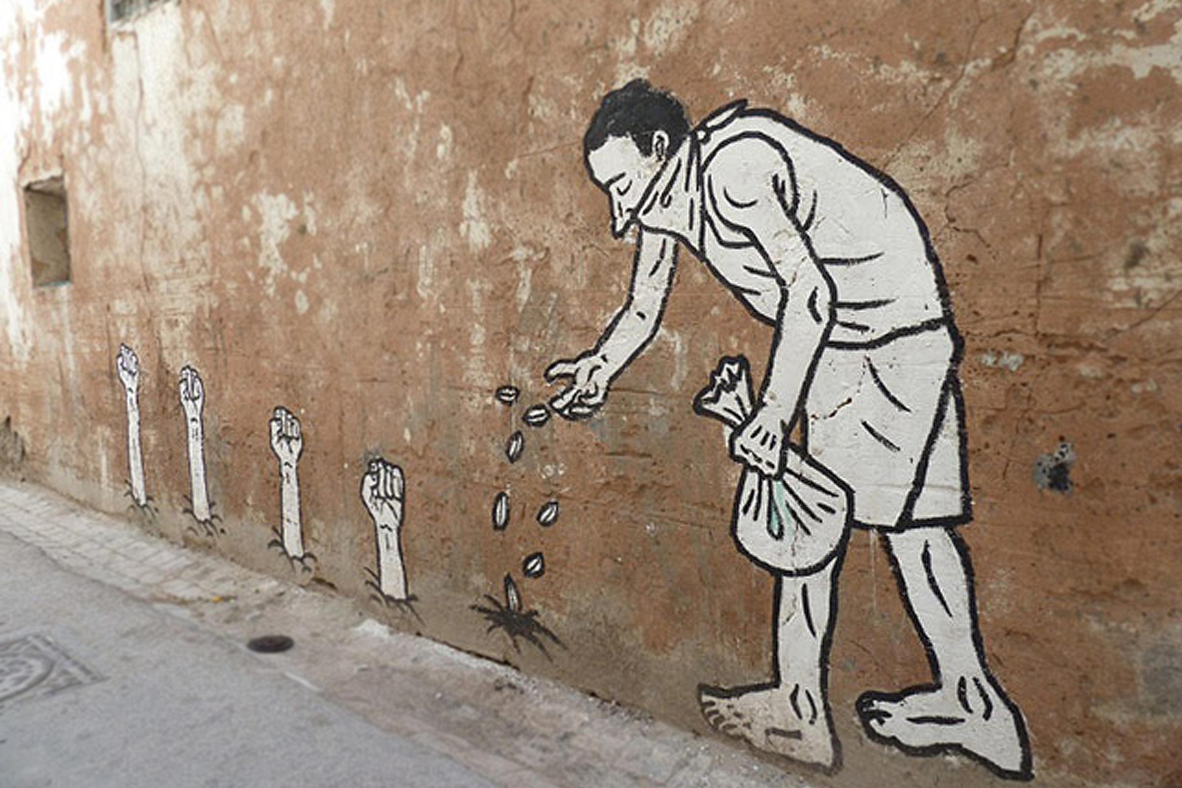tunis-muralfist